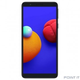 "Смартфон Samsung SM-A013F Galaxy A01 Core 16Gb 1Gb черный моноблок 3G 4G 1Sim 5.3"" 720x1480 Android 10 8Mpix 802.11 b/g/n GPS GSM900/1800 GSM1900 TouchSc MP3 microSD max512Gb"