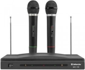 Микрофон SET MIC-155 BLACK 64155 DEFENDER