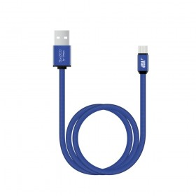 Кабель USB TO MICRO USB 1M BLUE 34454 BORASCO