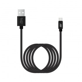 Кабель USB TO USB-C 2M BLACK 21975 BORASCO