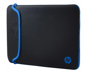 "Case Chroma Reversible Sleeve –Black/Blue (for all hpcpq 14.0"" Notebooks) cons"