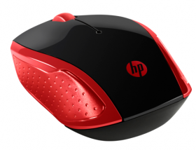 Mouse HP Wireless Mouse 200 (Empress Red) cons
