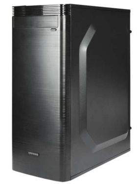 IRBIS Office 100 MT , Pen G5400, 4Gb, HDD 1Tb, PSU 450W, DOS, black, 1 year
