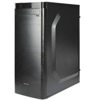 IRBIS Office 300 MT , Core I5-8400, 8Gb, HDD 1Tb, PSU 450W, DOS, black,  1 year