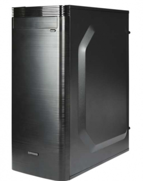 IRBIS Office 200 MT , Core I3-8100, 8Gb, HDD 1Tb, PSU 450W, DOS, black,  1 year
