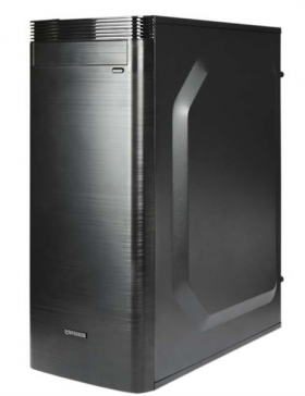IRBIS Office 200 MT , Core I3-8100, 4Gb, SSD 120Gb, PSU 450W, DOS, black,  1 year