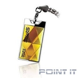 Silicon Power USB Drive 32Gb Touch 850 SP032GBUF2850V1A {USB2.0, Amber}