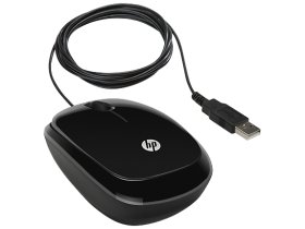 Mouse HP Wired Mouse X1200 (Sparkling Black) cons