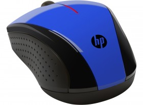 Mouse HP Wireless Mouse X3000 (Cobalt Blue) cons