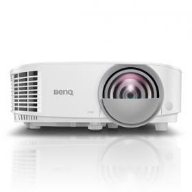 Проектор BenQ MX808ST XGA (1024x768) 3000 AL, ST 0.6 T/R, HDMI, VGAx2, USB Power, interactive ready, wireless ready, antidust components, White