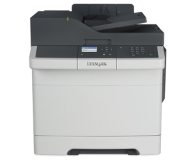Lexmark Multifunction Color Laser CX317dn (c/p/s  A4, 23 ppm, 512 Mb,2trays 250+1, USB/GigEth,  Duplex, ADF 50,Cartridge 1400 b & 750 cmy pages in box,  1+3y warr. )