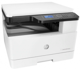HP LaserJet MFP M433a Printer (p/c/s, A3, 1200dpi, 20ppm, 128Mb, 2trays 100+250, USB, cart. 4000 pages in box, 1y warr)
