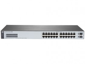 HPE 1820 24G Switch (24 ports 10/100/1000 + 2 SFP, WEB-managed, fanless) (repl. for J9803A)