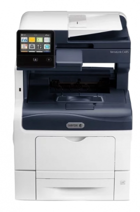 Цветное МФУ  XEROX VersaLink C405N (A4, 35 ppm/35ppm, max 80K pages per month, 2GB memory, PCL 5/6, PS3, DADF, USB, Eth)