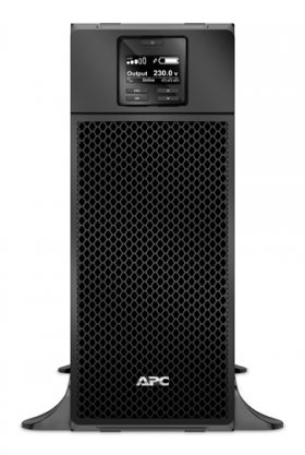 APC Smart-UPS SRT, 6000VA/6000W, On-Line, Extended-run, Black, Tower (Rack 4U convertible), Pre-Inst. Web/SNMP, with PC Business