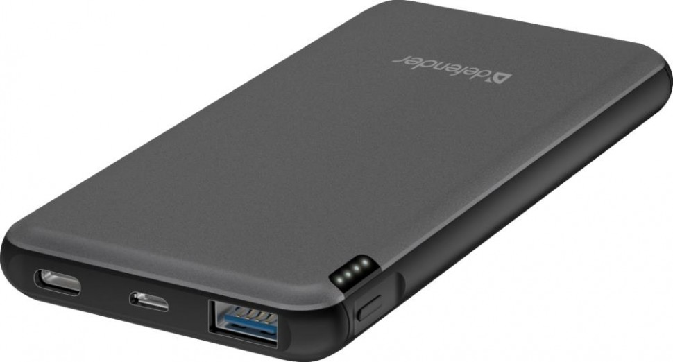 Аккумулятор USB 10000MAH QC3.0 EXTRALIFE 83664 DEFENDER