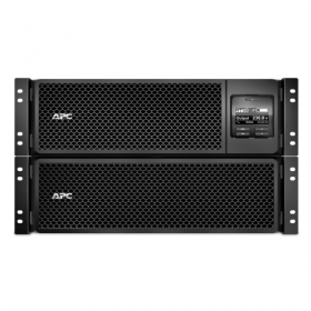 APC Smart-UPS SRT RM, 8000VA/8000W, On-Line, Extended-run, Rack 6U (Tower convertible), Pre-Inst. Web/SNMP, with PC Business, Black