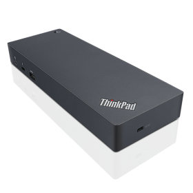 ThinkPad Thunderbolt 3 Dock for P51s/52s, T470/470s/570, T480/480s/580, TP Yoga 370, X1 Carbon(5,6th Gen), X1 Yoga (2,3nd Gen),x280,x380Yoga