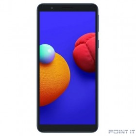 "Смартфон Samsung SM-A013F Galaxy A01 Core 16Gb 1Gb синий моноблок 3G 4G 1Sim 5.3"" 720x1480 Android 10 8Mpix 802.11 b/g/n GPS GSM900/1800 GSM1900 TouchSc MP3 microSD max512Gb"